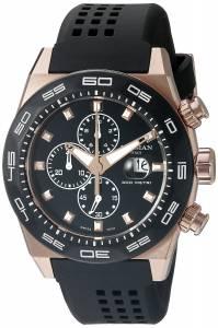 [ロックマン]Locman  Stealth 300 Metri Analog Display Quartz Black Watch 0217V5-RKBK5NS2K