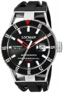 [ロックマン]Locman Montecristo Professional Divers Automatic Analog Display 051300KRBKNKSIK