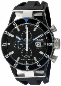 [ロックマン]Locman Montecristo Professional Divers Chronograph Analog Display 0512KNKBBKNKSIK