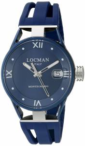 [ロックマン]Locman  Montecristo Lady Analog Display Quartz Blue Watch 0521V06-BLBL00SB