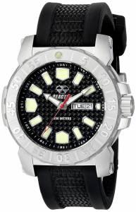 [リアクター]REACTOR  Meltdown 2 Analog Display Japanese Quartz Black Watch 76801 メンズ
