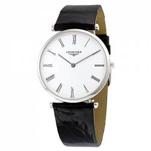 [ロンジン]Longines 腕時計 La Grande Classique White Dial Black Leather Watch L47554112