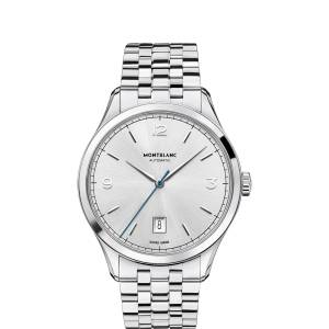 [モンブラン]MONTBLANC  Heritage Chronometrie Automatic Stainless Steel Watch 112532 メンズ