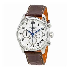 [ロンジン]Longines  Master Collection Silver Dial Automatic Chronograph Watch L26934785
