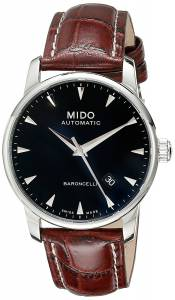 [ミドー]Mido  Baroncelli Analog Display Swiss Automatic Brown Watch MIDO-M86004188 メンズ