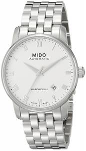 [ミドー]Mido  Baroncelli Analog Display Swiss Automatic Silver Watch MIDO-M86004261 メンズ