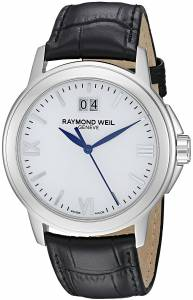 [レイモンドウィル]Raymond Weil Tradition Stainless Steel Case Black Leather 5576-ST-00307