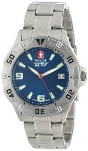 [ウェンガー]Wenger Swiss Military  Brigade Military Stainless Steel Watch 72948 メンズ
