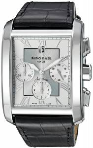 [レイモンドウィル]Raymond Weil 'Don Giovanni' Swiss Automatic SilverTone and 4878-STC-00658