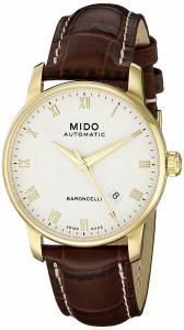 [ミドー]Mido  Baroncelli Analog Display Swiss Automatic Brown Watch MIDO-M86003268 メンズ