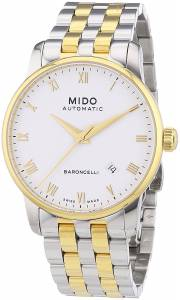 [ミドー]Mido  Baroncelli Analog Display Swiss Automatic Two Tone Watch MIDO-M86009261 メンズ