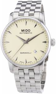 [ミドー]Mido 腕時計 Watches Baroncelli Automatic M8600.4.14.1 2 3 M86004141 メンズ