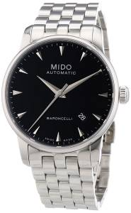 [ミドー]Mido  Baroncelli Analog Display Swiss Automatic Silver Watch MIDO-M86004181 メンズ