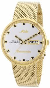 [ミドー]Mido  M8429.3.21.1 Analog Swiss Automatic Gold Plated Watch M842932113 メンズ