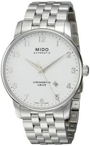 [ミドー]Mido  Baroncelli Analog Display Swiss Automatic Silver Watch MIDO-M86904111 メンズ