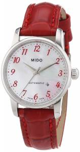 [ミドー]Mido  Baroncelli Analog Display Swiss Automatic Red Watch MIDO-M76004397 レディース