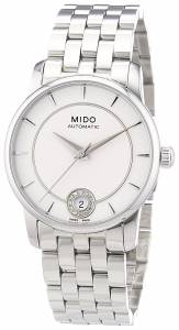 [ミドー]Mido  Baroncelli Analog Display Swiss Automatic Silver Watch MIDO-M0072071103600