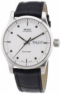 [ミドー]Mido Watch Multifort Silver Dial Stainless Steel Case Automatic Movement M0058301603100