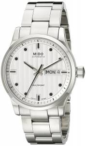 [ミドー]Mido  Multifort Analog Display Swiss Automatic Silver Watch MIDO-M0058301103100