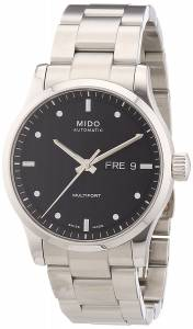 [ミドー]Mido  Multifort Analog Display Swiss Automatic Silver Watch MIDO-M0058301105100