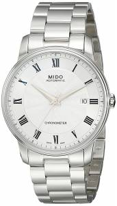 [ミドー]Mido  Baroncelli Analog Display Swiss Automatic Silver Watch MIDO-M0104081103300