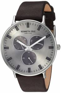 [ケネスコール]Kenneth Cole New York 'Sport' Quartz Stainless Steel and Leather KC14946001