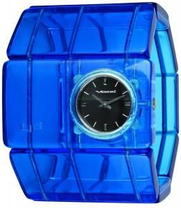 [ベスタル]Vestal  Rosewood Acetate Translucent Blue Bangle Watch RSA017 レディース