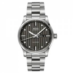 [ミドー]Mido Multifort Automatic Dark Grey Dial Stainless Steel Watch M005.430.11.061.00