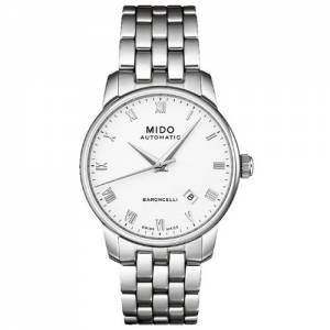 [ミドー]Mido 腕時計 Baroncelli Stainless Steel Automatic Watch M8600.4.26.1 メンズ
