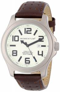 [モーメンタム]Momentum  Cobalt Lite Brown Perforated Leather Watch 1M-SP08L2C メンズ