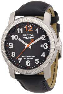 [セクター]Sector 腕時計 500 Analog Display Quartz Black Watch R3251139025 メンズ