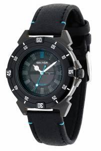 [セクター]Sector 腕時計 Action Analog Display Quartz Black Watch R3251197125 メンズ