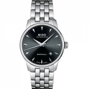 [ミドー]Mido 腕時計 Baroncelli Stainless Steel Automatic Watch M8600.4.18.1 メンズ