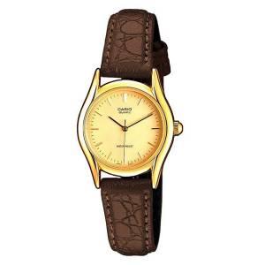 [カシオ]Casio  LTP1094Q9A Wristwatch Brown Snake / Gold Lines / Gold / One Size LTP-1094Q-9A