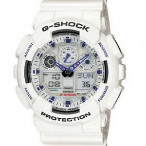 [カシオ]Casio 腕時計 GShock Classic Series White Watch GA100A7A GA-100A-7A [逆輸入]
