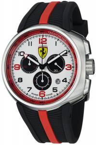 [フェラーリ]Ferrari  F1 Fast Lap White Dial Chronograph Swiss Watch FE-10-ACC-CG-WT メンズ