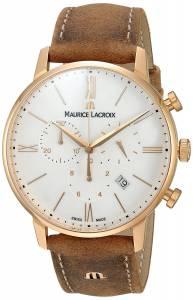 [モーリス ラクロア]Maurice Lacroix 'Eliros' Swiss Quartz GoldTone and EL1098-PVP01-113-1
