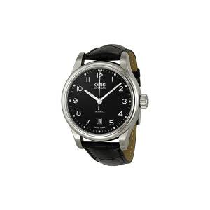 [オリス]Oris Classic Date Automatic Black DIal Steel Watch 01 733 01 733 7594 4094-07 5 20 11