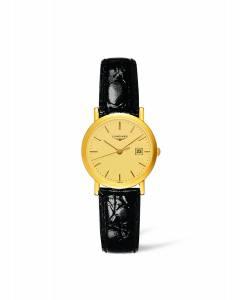 [ロンジン]Longines 腕時計 Presence Champagne Dial 18K Yellow Gold Watch L4.279.6.32.0