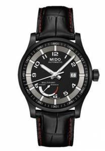 [ミドー]Mido Multifort Power Reserve Automatic Swiss Watch Black M005.424.36.052.22