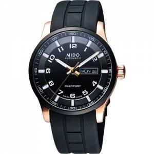 [ミドー]Mido  Gents Watch Multifort analog automatic rubber M0054303705709 M005.430.37.057.09