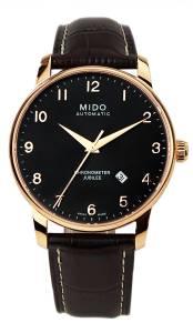 [ミドー]Mido M86903138 Baroncelli Watch Black Dial Stainless Steel Case Automatic M8690.3.13.8