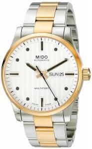 [ミドー]Mido  Multifort Analog Display Swiss Automatic Two Tone Watch MIDO-M0054302203102