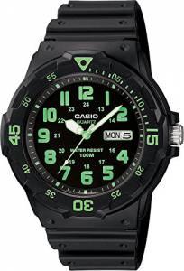 [カシオ]Casio 腕時計 MRW200H3BVCFMns Blk Analog Sport Watch MRW-200H-3BVCF ユニセックス
