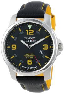 [セクター]Sector 腕時計 Warranty Black Dial Analog Watch R3251189004 メンズ