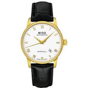 [ミドー]Mido  M86003264 Watch Baroncelli ll White Dial Stainless Steel Case BARONCELLI II GENT