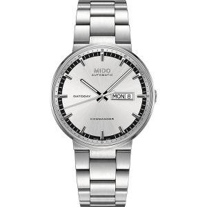 [ミドー]Mido M0144301103100 Watch Silver Dial M014.430.11.031.00 Stainless Steel Commander II