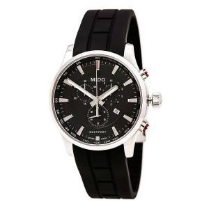 [ミドー]Mido  Watch Multifort Black Dial Stainless Steel Case Quartz Movement M0054171705120