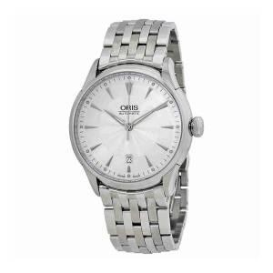 [オリス]Oris Artelier Date Silver Dial Automatic Steel Watch 01 733 01 733 7591 4091-07 8 21 73