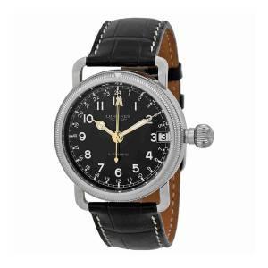 [ロンジン]Longines Heritage Automatic Black Dial Stainless Steel Watch L27784530 L2.778.4.53.0